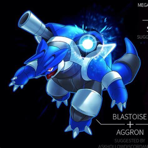 blastoise and aggron fusion pok 233 mon amino