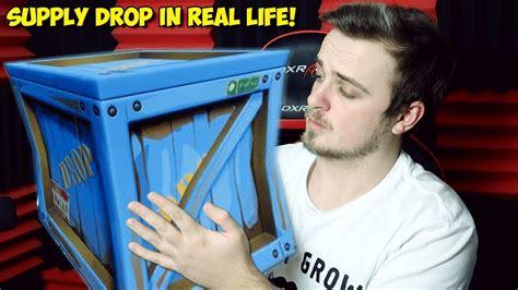 fortnite supply droploot llama  real life fortnite