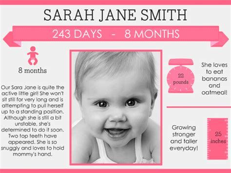 washi baby collage smilebox baby infographic greeting smilebox
