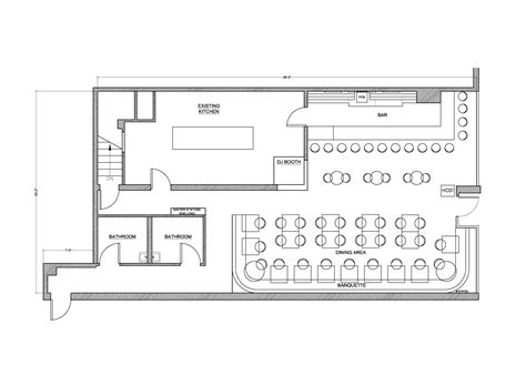 bar and restaurant floor plan formakers innuendo restaurant and bar bluarch