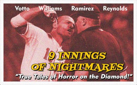 9 Innings Of Nightmares The Scariest Baseball Moments Of | 9 innings of nightmares the scariest baseball moments of