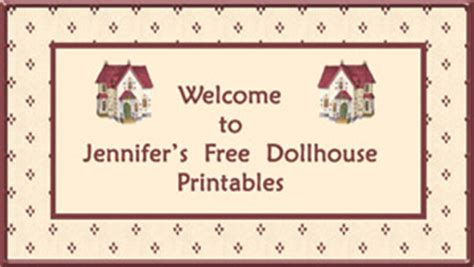 free dolls house printables free printable dollhouse wallpaper vintage and modern