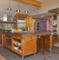 Kitchen Islands On Wheels With Seating by Movable Kitchen Island With Seating Design Inspirations