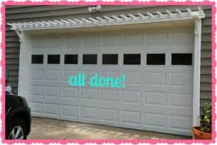 diy garage door pergola yard