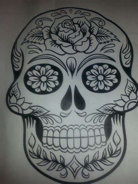 doodle skull meaning 110 best images about calaca on
