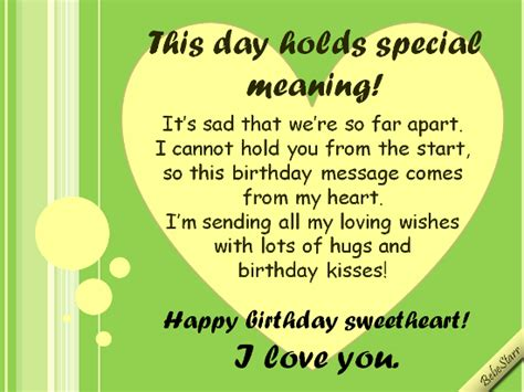 Happy Birthday To Daughters Boyfriend by Birthday Quotes For Distance Relationship Image