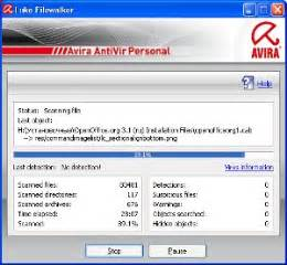 description of freeware avira free antivirus (antiviruses).