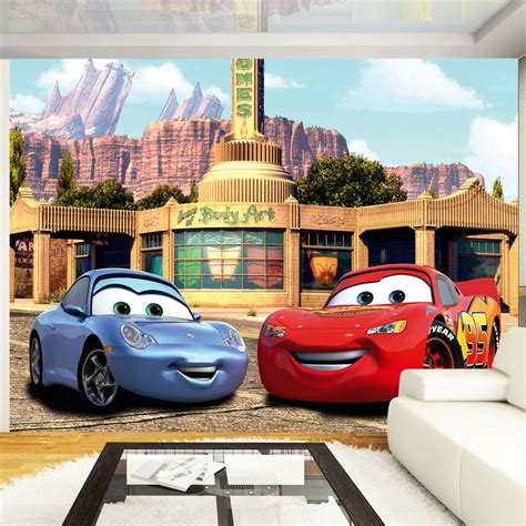 disney cars wall mural disney cars wall murals 6 designs available bedroom 100 official free p p ebay