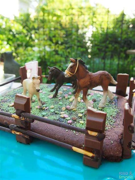 kuchen kindergeburtstag pferd pferde kuchen f 252 r den pferdegeburtstag oder den