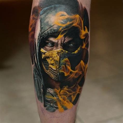 tattoo assassins jogo 15 terrific gaming tattoos tattoodo
