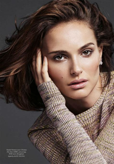 Natalie Portman April Issue Of Magazine by Natalie Portman S Bazaar Magazine Australia April