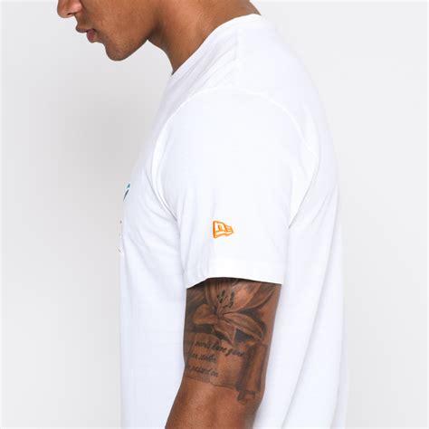 T Shirt Miami Dolphins Logo t shirt miami dolphins blanc avec logo de l 233 quipe new era