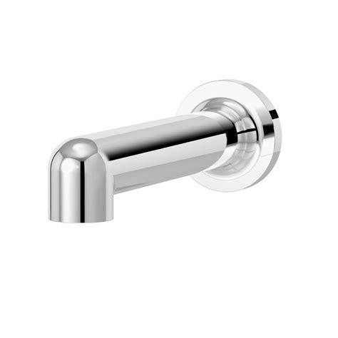 american standard non diverter slip on tub spout polished