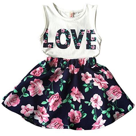 Lnice Flower Top Skirt jastore letter flower clothing sets top