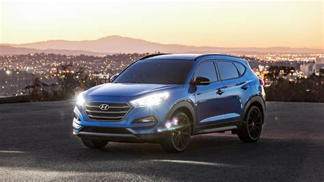 hyundai tucson night hyundai tucson night edition is stylish at any hour