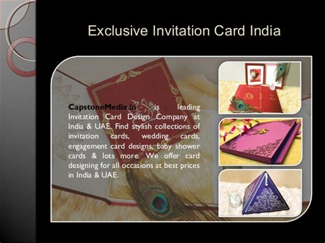 Exclusive Wedding Invitation Cards by Exclusive Wedding Invitation Card Designs