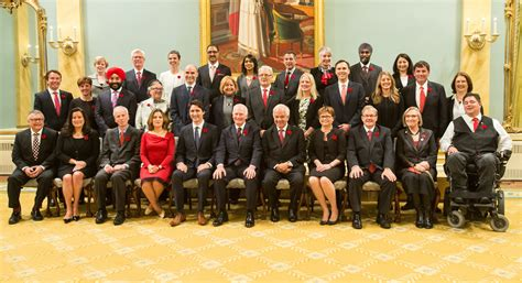 Who Are The Cabinet Members 2015 Canadian Elections Canada Has A Half Cabinet
