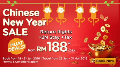 new year promotion hotel airasia promotion new year big sale 2016