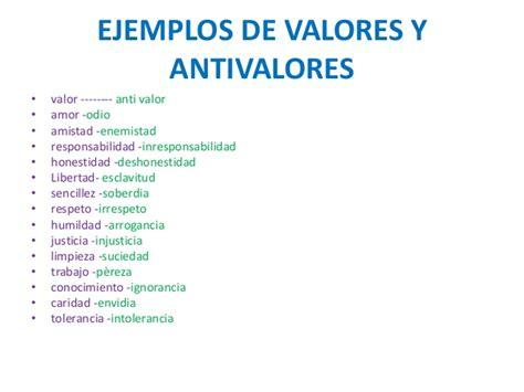 ejemplos de micro inductores de valor valores y antivalores