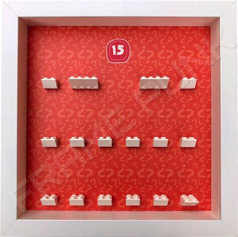 Frame Lego Minifigure Series 15 Display lego minifigures series 15 display frame frame