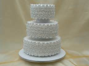 Tiered Wedding Cakes Three Tier Wedding Cake With Blossoms By Cakes Of Distinction Cork Ireland
