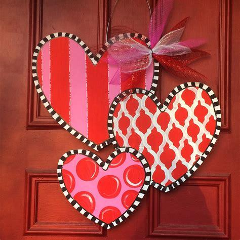 valentines door hanger s day door hanger hearts door hanger welcome