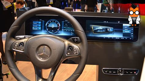 mercedes dashboard 2017 new 2017 mercedes e class dashboard walktrough youtube