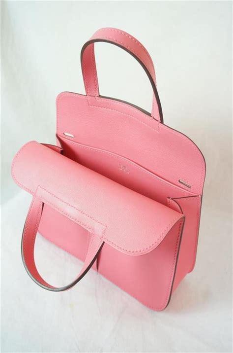 Hermes Mini Pink herm 232 s halzan mini handbag pink leather gold new