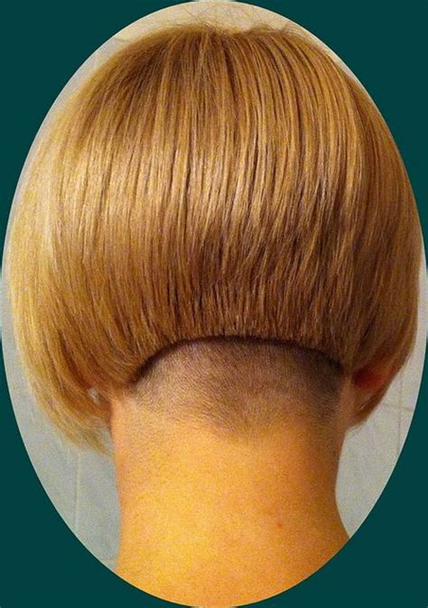 clippered back bob haircut asymmetrical graduated bob with graduated back and