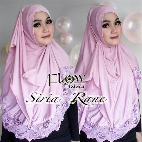 Kerudung Ori Turki Termurah 62 jual siria rane by flow idea toko jilbab branded instan kerudung terbaru