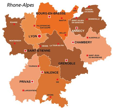 Rhone Alpes region of France, all the information you need