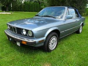 1988 Bmw 325i Sell Used 1988 Bmw 325i Base Convertible 2 Door 2 5l In
