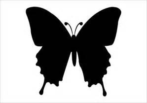 butterfly silhouette vector silhouette graphics