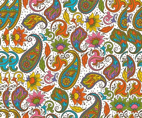 pattern illustrator indian 40 paisley pattern designs psd vector eps ai