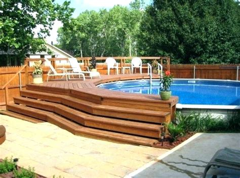 inground pool deck how to fill your swimming pool with