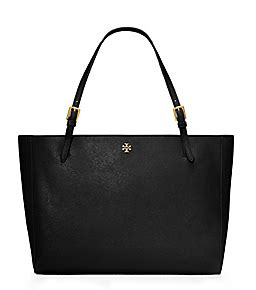 New Tb York Tote Small Black the york collection burch handbags burch