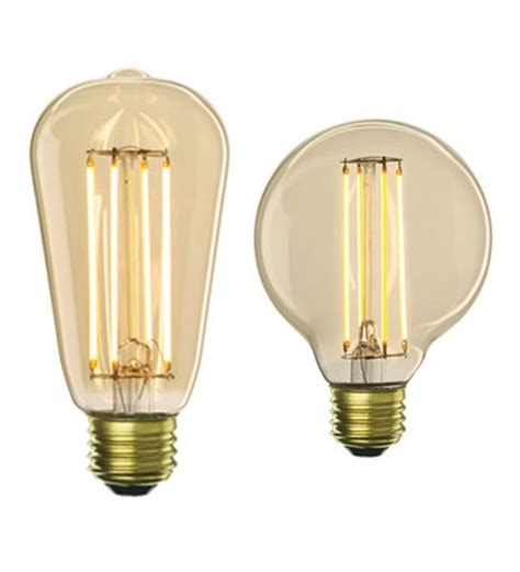 Led Lights That Mimic The Look Of Vintage Edison Bulbs Led Cfl Light Bulbs