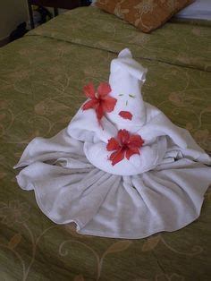 The Lost Of Towel Origami - 1000 images about how to fold towels into on