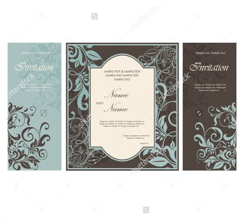 wedding brochure template 23 free psd ai vector eps