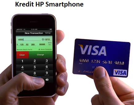 Berapa Kartu Memori Hp cara kredit hp smartphone dengan atau tanpa kartu kredit
