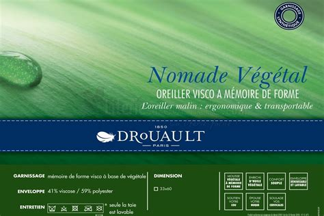 Oreillers De Voyage by Oreiller De Voyage Nomade De Drouault