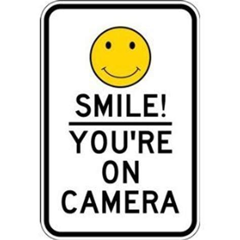 amazon.com : smile! you're on camera sign 12x18 : yard