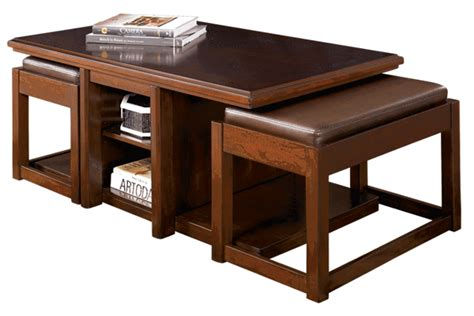 coffee table with nested ottomans coffee table coffee table with nesting ottomans free