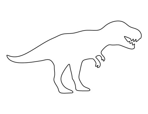 dinosaur templates t rex pattern use the printable pattern for crafts