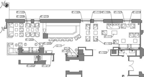 typical layout of a restaurant professional work hilton checkers by lindsey brock at