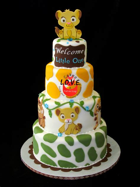 Lion King Baby Shower Cake Ideas - lion king baby shower cake ideas omega center org ideas for baby