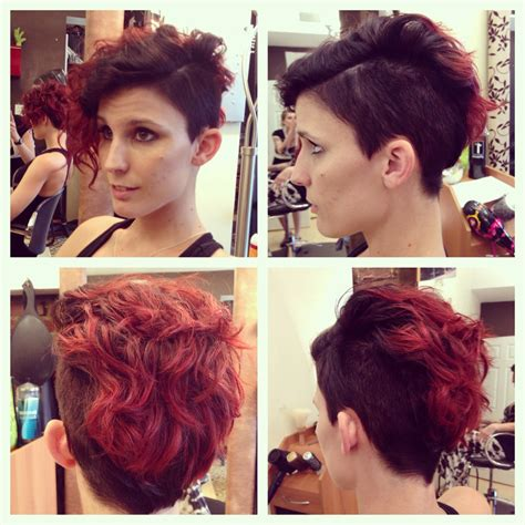 15 photo of long hairstyles with shaved sides 15 best collection of pixie hairstyles with shaved sides