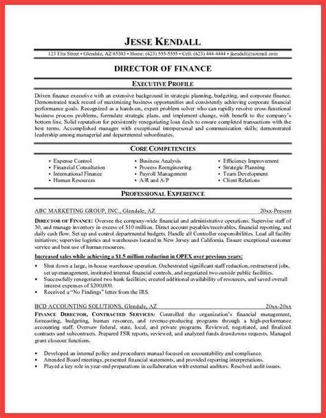 strategic planning resume exles executive profile template memo exle
