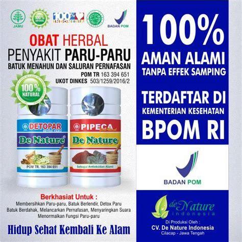 Obat Herbal De Nature obat paru paru de nature herbal alami tradisional