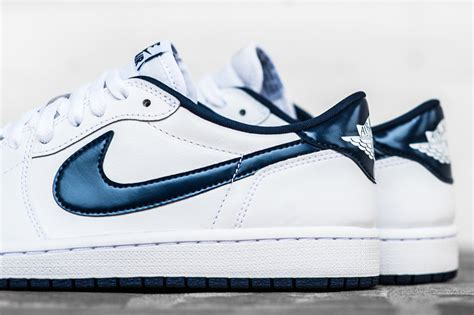 Air 1 White 1 air 1 low white midnight navy sneaker bar detroit